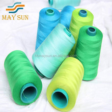 shanghai Welljoy high quality wholesale 5000 yards coats sewing thread 40/2 50/2 60/2 produced in china