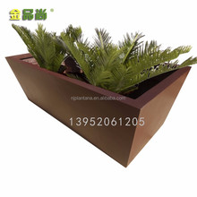 Rectangular Manual Seed Planter Resin Box for Flowers