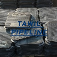 Ductile Iron solid top manhole cover