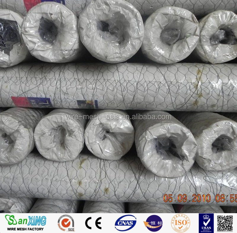 High quality low price hexagonal mesh/chicken wire/ss chiken wire
