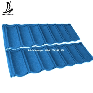wholesale cheaper decras stone coated steel roofing tile building material type of roofing sheets price