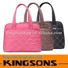 "Soft Nylon 14.1"" ladies leisure bags"