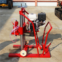 China Ingersoll Rand mining rock portable clawer rotary used diamond core drilling rig