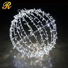 Outdoor led ball christmas ornaments for holiday decoration