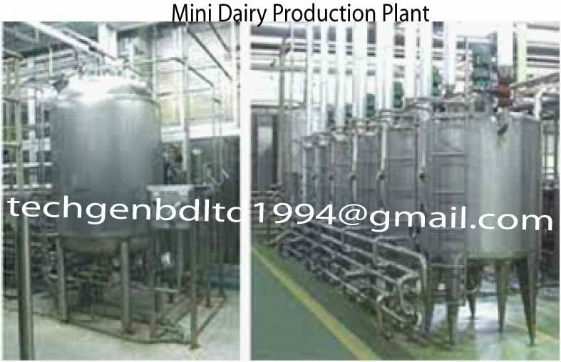 Mini Dairy Plant Machinery