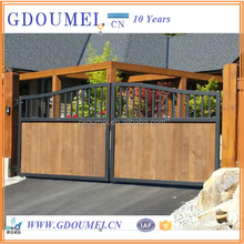 Steel wood Gate Design, Gates and Steel Fence Deisgns, Sliding Iron Main Gate Design