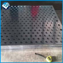 perforated metal sheet for fencing building material