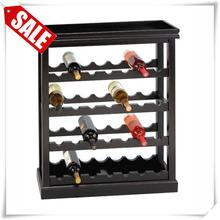 Brand new standing shoe racks antique wooden glass display cabinet