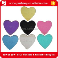 Custom heart shape car non slip mat for mobile phone