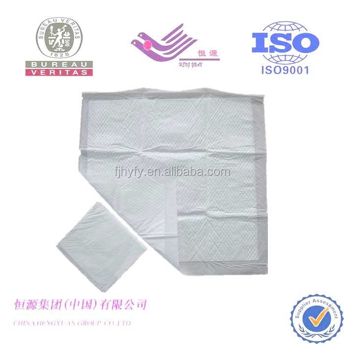 OEM hosipital disposable ultra-thin underpad,medical underpad manufacture