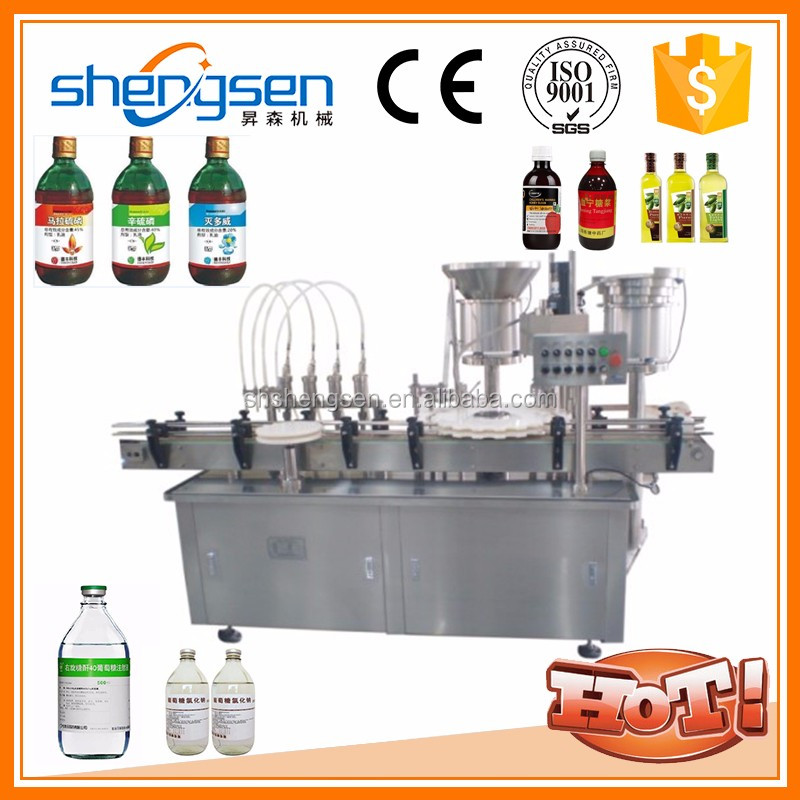 Plc Control System Technology Automatic Electronic Cigarette Oil Filling Machine