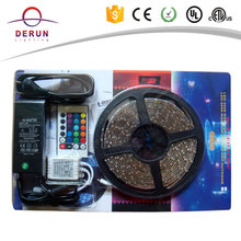 High lumen 12v UL led strip blister pack rgb 5050