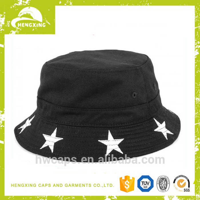 Cotton funny blank custom printed cheap bucket hats