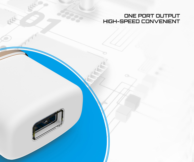 High Quality 5V 1.0A USB Quick Charge Power Adapter Home Wall Charger