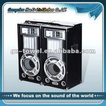 2.0 active stage speaker with USB.SD.FM