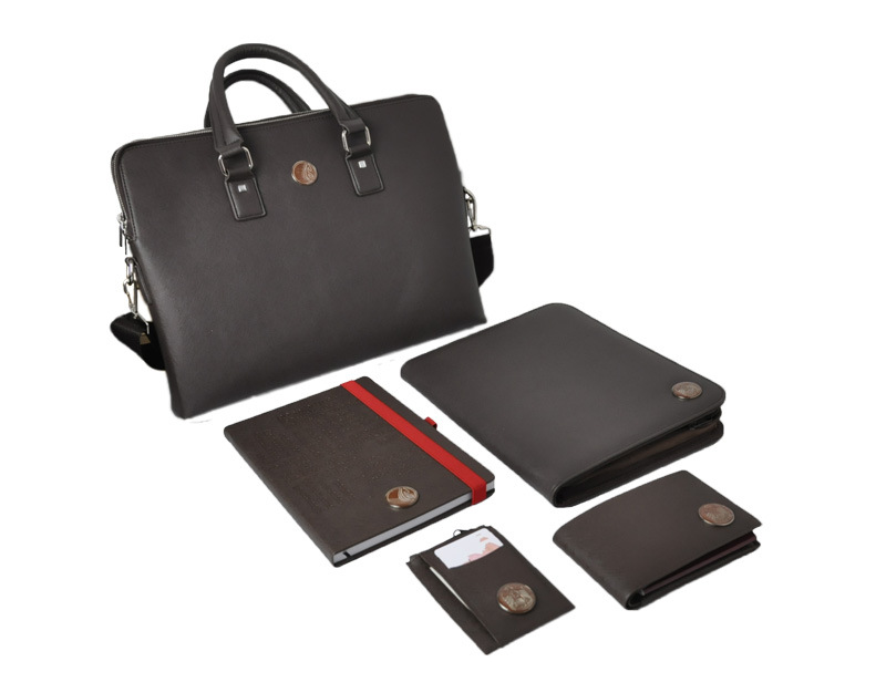 Luxury leather promotion corporate business gift from China