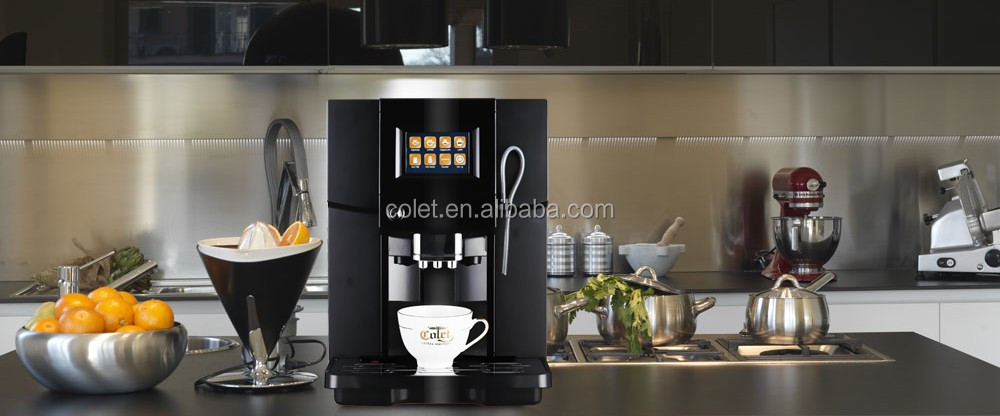 Ningbo coffee maker machine ABS plastic coffee machines for offices