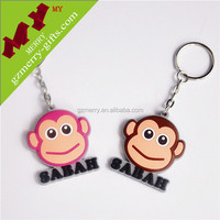 Promotional crafts wholesale pvc key chain