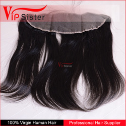invisible hairline natural straight hair frontal 13x6 100 raw indian human hair piece
