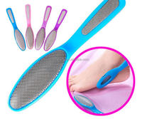 Wholesale professional metal foot file with long handle foot skin callus remover