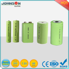 High capacity 5000mah C size NI-MH 1.2V C cell nimh rechargeable battery
