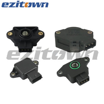 Ezitown Auto Parts Throttle Valve Position Sensor for VW OE 026 907 385.5/0269073855