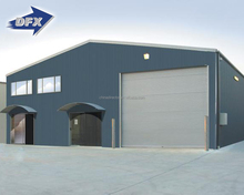 Ready Made Prefab Steel Construction Metal Roof Warehouse