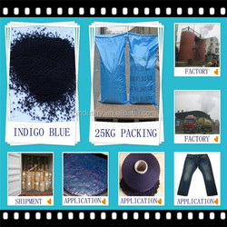 Factory Textile Dyestuffs Materials Dark Indigo Blue