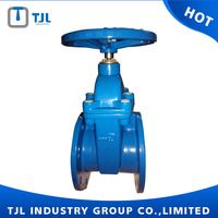 DIN cast iron bronze trim gate valve DN400