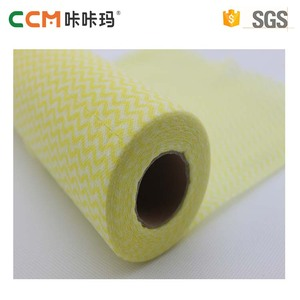 China factory customized disposable spunlace nonwoven fabric kitchen cleaning wiping rag