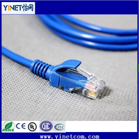 Hot selling CAT6 patch wire Solid Bare Copper 23awg Jumper cord for wholesale price