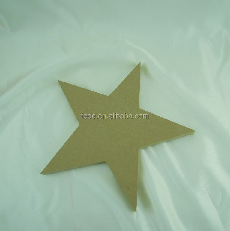 MDF Can Be Painted Large Star Shapes Home Decor