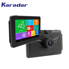 "New 4.5"" Automobile Navigator Car Dvr Gps Navigation Mt812 Quad-Core 8G Europe Free Map Truck Sat Nav 1Din Android"