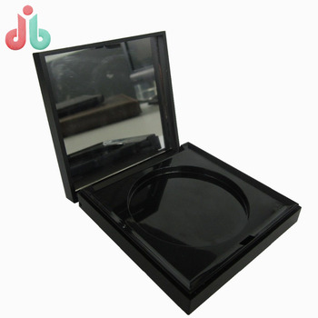 Customized Empty Makeup Compact Mirror Powder Plastic Case in Injection molding