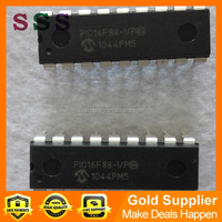 Electronic Components IC SUPPLY 16F88 DIP
