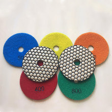 Flexible Hand Diamond Floor Stone Dry Polishing Grinding Pad