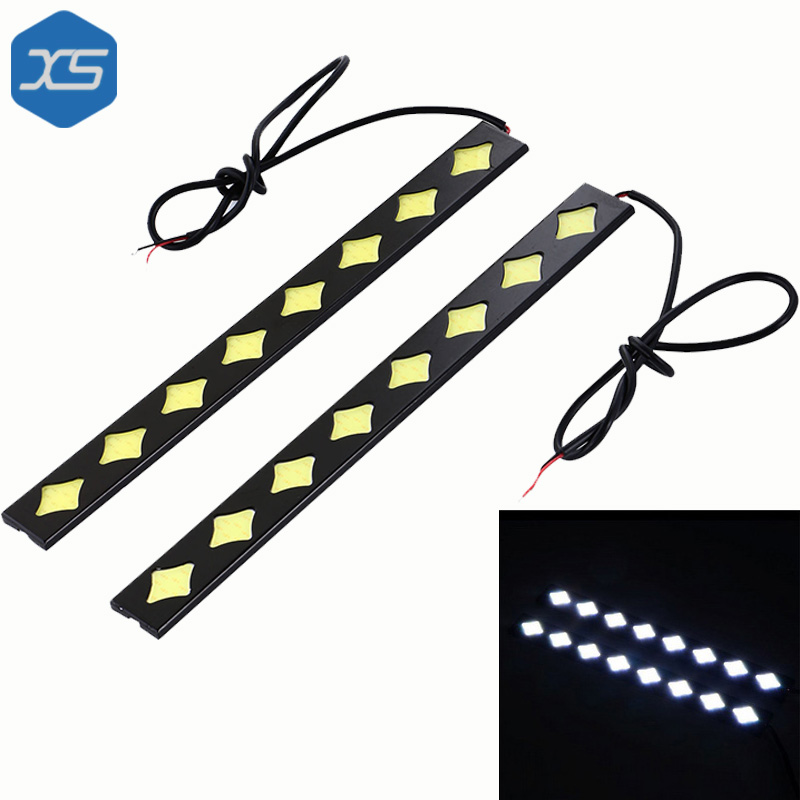 2X 12V 10W 6000K 50000Hrs Cob Daytime Running Lights Cob Chips Led Bulbs Drl,Daytime Running Lights