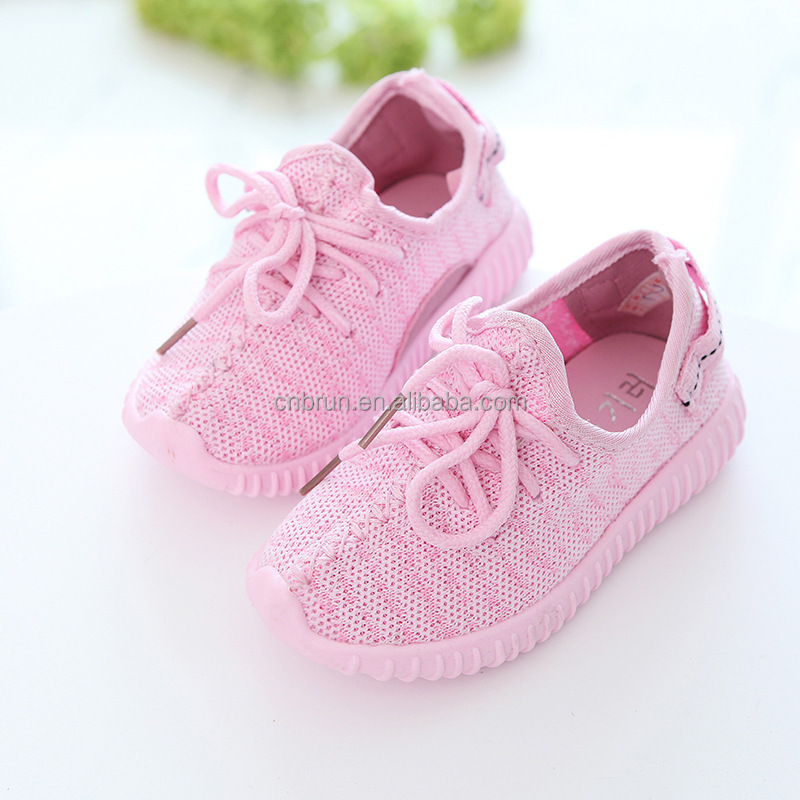 yeezy 350 kids fly weaving upper running shoes