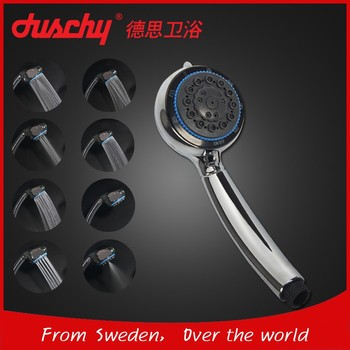 Hand shower head Eight functions Stop function