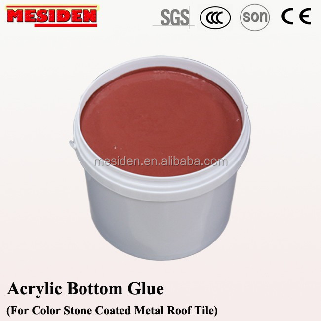 Epoxy Acrylic Adhesive for roof building materials bent tiles