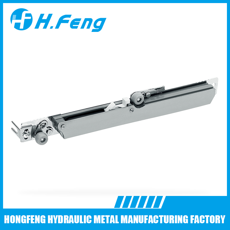Stainless Steel Metal soft closing damper for wood door