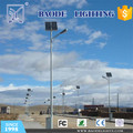 Baode lights 6m pole 30w solar street light project in Saudi Arabia