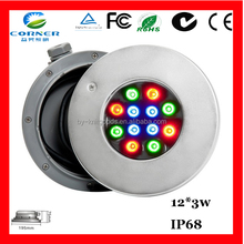 China factory price 36w 3240lm 304 led light swimming pool dimming light