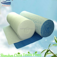 Polyester material nonwoven textiles air filter fabric