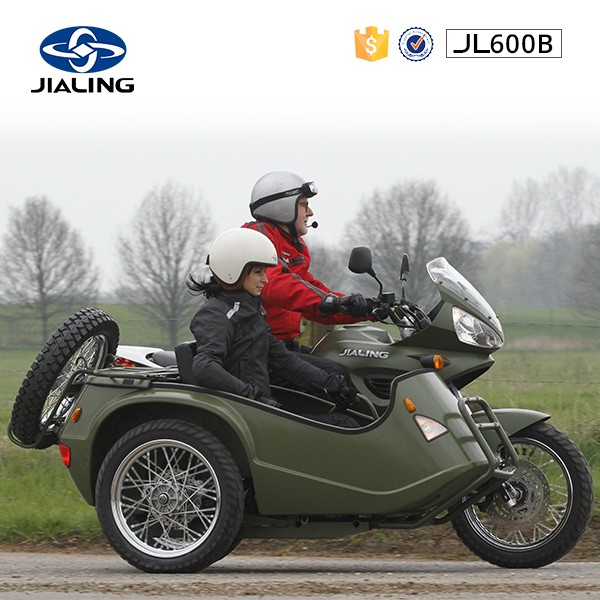 JH600B new disc brake system ,600CC side car motorcycle