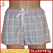 Ladies seersucker shorts