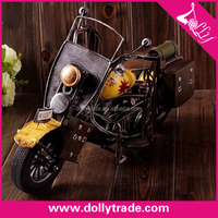 mini metal art decorative motorcycle model