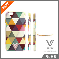 JULESV rainbown pattern custom phone case cell covers for IPhone 6 Plus