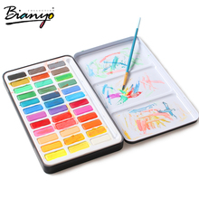New procducts watercolor cake artist set 36 pcs watercolor paint for artist