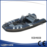 Gather outdoor fanny water sports 2016 Made-in-China CE rib infaltable boat
